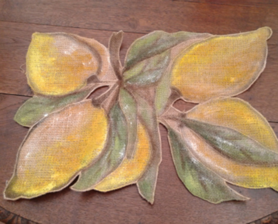 "TAVOLA DECOR ""LIMONI"""